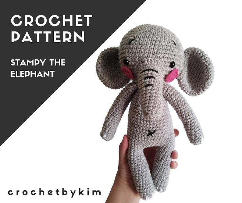 easy crochet elephant projects - YouTube | Elefantes amigurumi ... | 666x794
