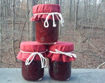 Homemade Strawberry-Vanilla Jelly