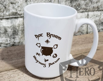 Hot Brown Morning Potion Mug