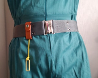 Real Ghostbusters Belt and Fob