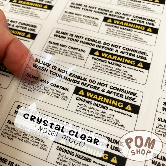 Crystal Clear Stickers