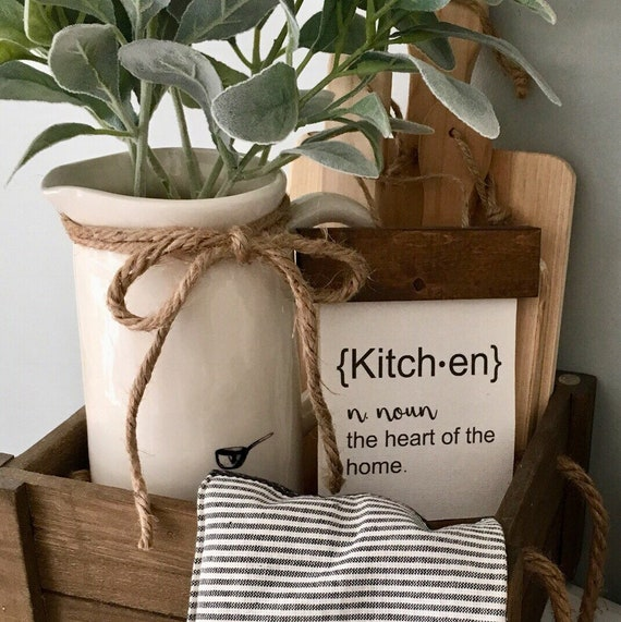 Mini Kitchen Banner | 5x7 | Farmhouse Decor | Kitchen Decor |