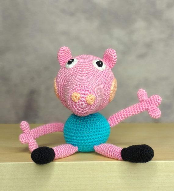 Peppa Pig E George Pig Amigurumi - Crochê - R$ 149,00 em Mercado Livre | 623x570