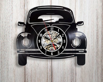 Car Art Boys Room, Vinyl Clock Car, Car Art For Kids, Car Decorations, Car  Gifts For Him, Car Gifts For Dad, Car Gifts For Men, Car Guy Gift