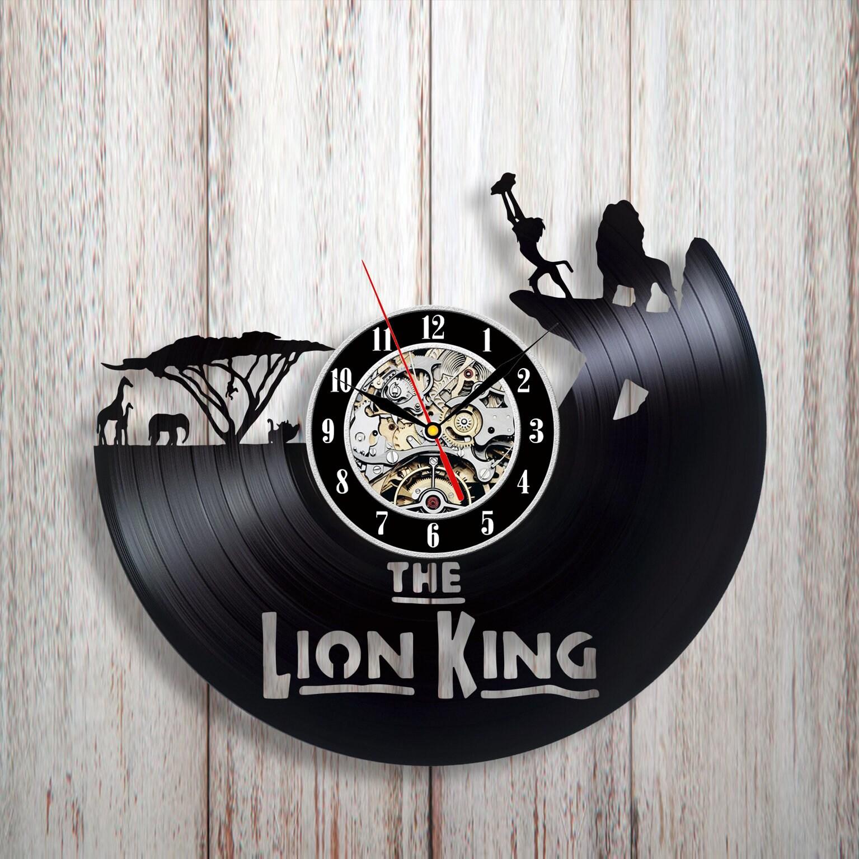 Disney vinyl clock disney home decor personalized disney