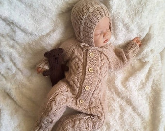 62195b529209 Baby knit jumpsuit