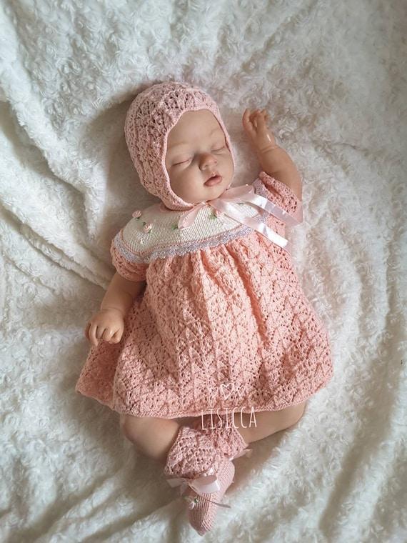 9d8dab280735 Vêtements de bébé à la main en tricot bébé ensemble tricoté   Etsy