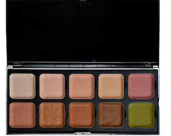 European Body Art Skin tone Makeup palettes