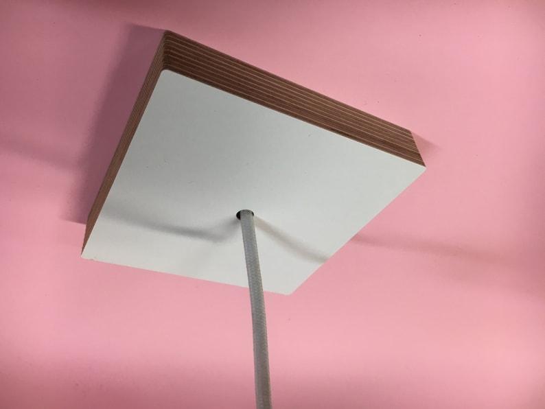 Soffitti In Legno Bianco : Bianco rosone a soffitto in legno baldacchino di soffitto in etsy