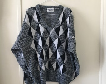 Vintage Sweater, Made in Korea. XL.