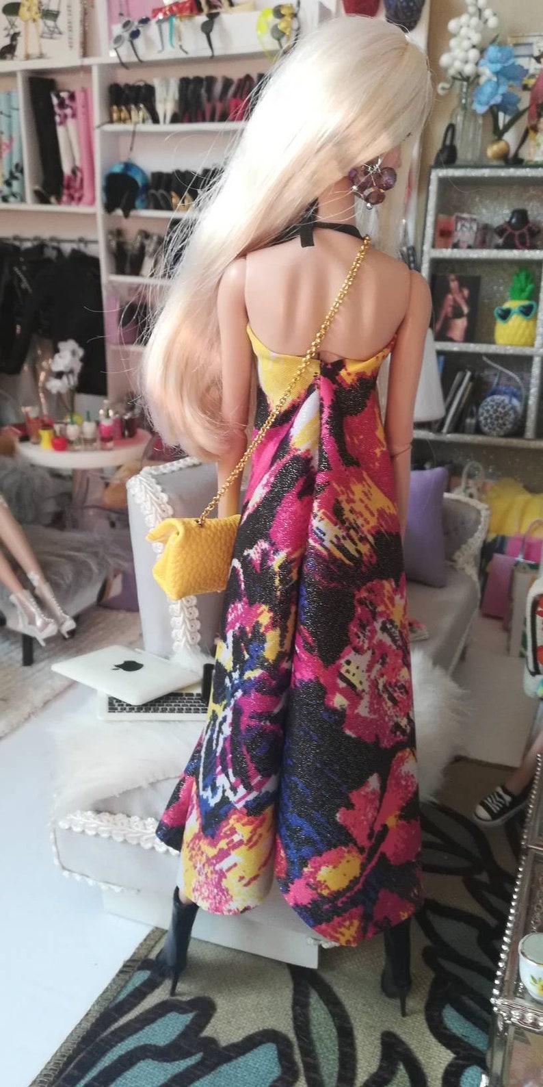 pullip All other same size doll vintage barbie momoko Fashion Royalty dress handmade to fit Barbie poppy Parker
