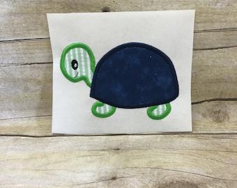 Turtle Applique, Turtle Embroidery Design, Kids Turtle Applique