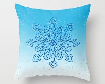 Pillow case 26x20 turquoise blue