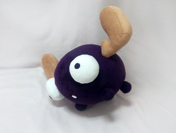 Custom toy inspired by Minimoose zim the invader plush made to order 30 cm minky