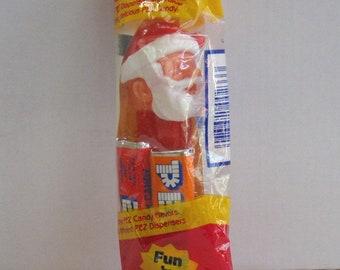 Vintage 1970's Santa Claus Pez Dispenser New in Package