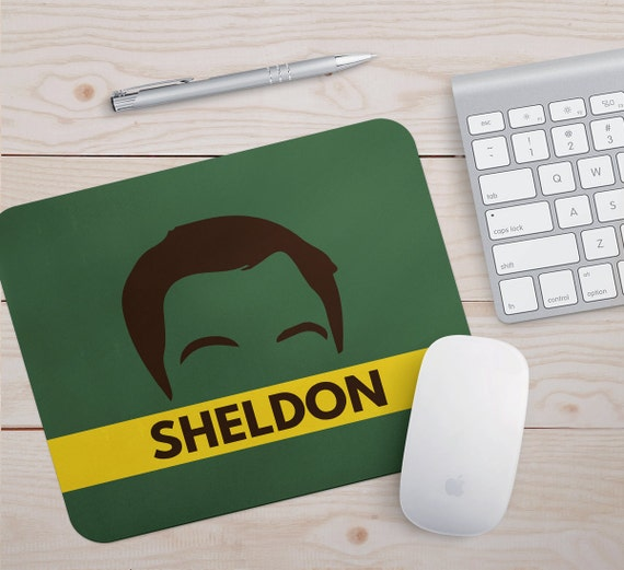 Mouse Pad Big Bang Theory Office Supplies Sheldon Desk Accessories Printed  Fabric Flexible Mousemats Comedy Tv Show Chic Mouse Pad
