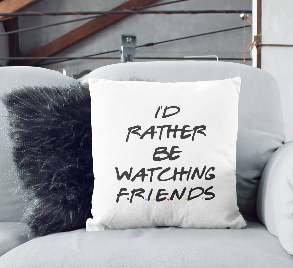 Canadian Inspired Home Decor Canada Pillow Via Etsy: Friends Throw Pillow Designer Home Decor If Rather Be
