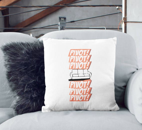 Superb Friends Pivot Throw Pillow Unique Home Decor Ross New Couch Tv Show Indoor Pillow Guest Room Decor Printed Pillow Cover 16X16 Pillow Alphanode Cool Chair Designs And Ideas Alphanodeonline