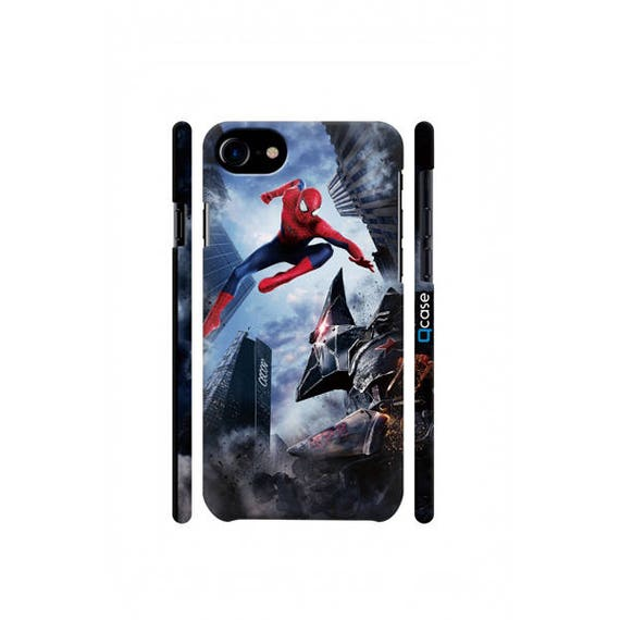 coque lumineuse spiderman iphone xr