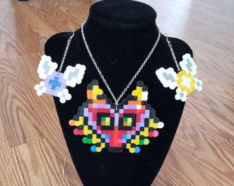Legend of Zelda | Majora's Mask Pixel Jewelry | Jewelry Set | pixel art
