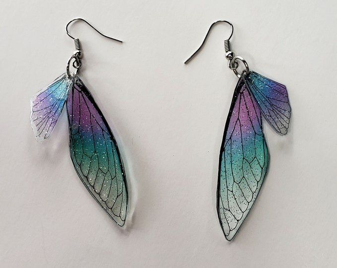 Featured listing image: Fairy Wing Earrings