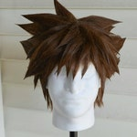 Kingdom Hearts 2 and 3 Sora/Vanitas Wig