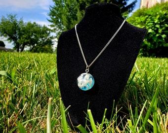 Captured Blue Skies | Pendant Necklace