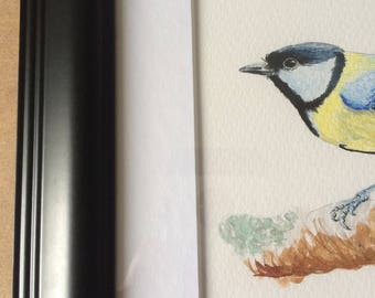 Great Tit Framed Print - A4 size