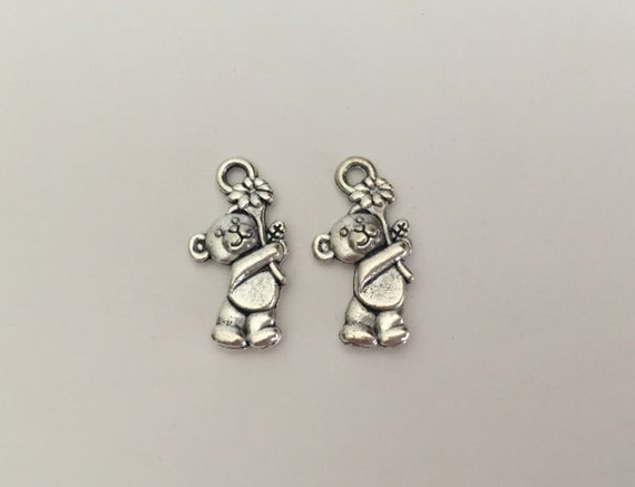 SC6242 2 Be the change Charms Antique Silver Tone