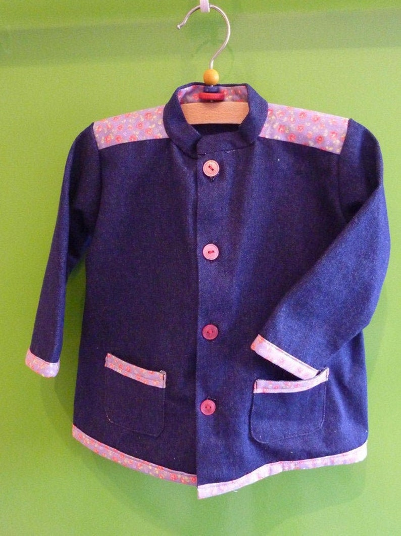 Jeans jacket in size 80 image 0