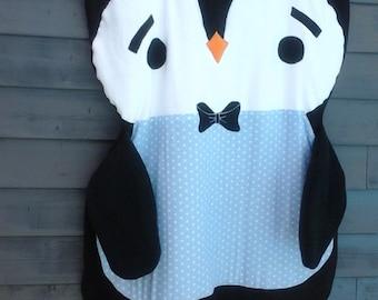 Penguin Crawling Blanket