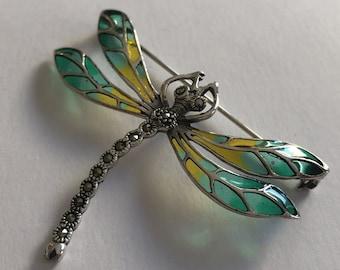 1e0aca5d25dae Dragonfly brooch   Etsy