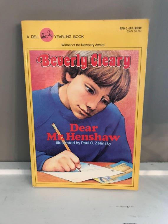 dear mr henshaw cleary beverly zelinsky paul o