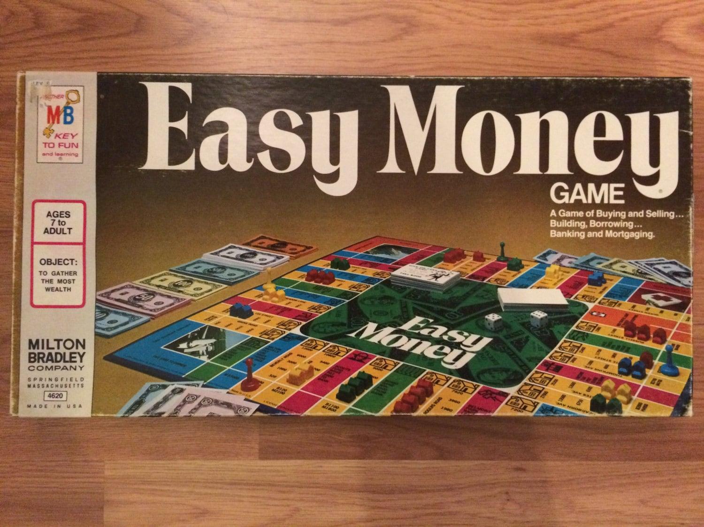 zoom Easy Money Milton Bradley 1970s Game