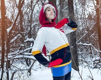 Undertale Papyrus inspired cosplay hoodie