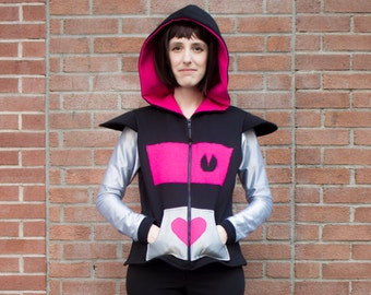 Undertale Mettaton EX inspired cosplay hoodie