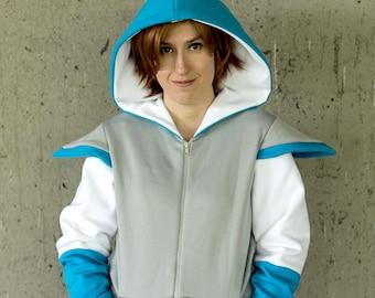 Underswap Sans inspired cosplay hoodie