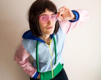 Fresh Sans inspired cosplay hoodie
