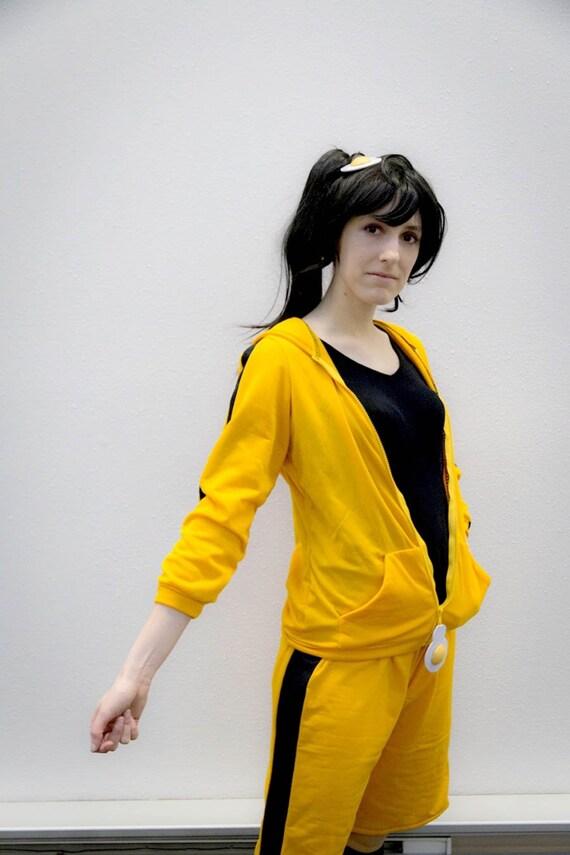 Karen Araragi hoodie and shorts cosplay set from Bakemonogatari Nisemonogatari Monogatari series