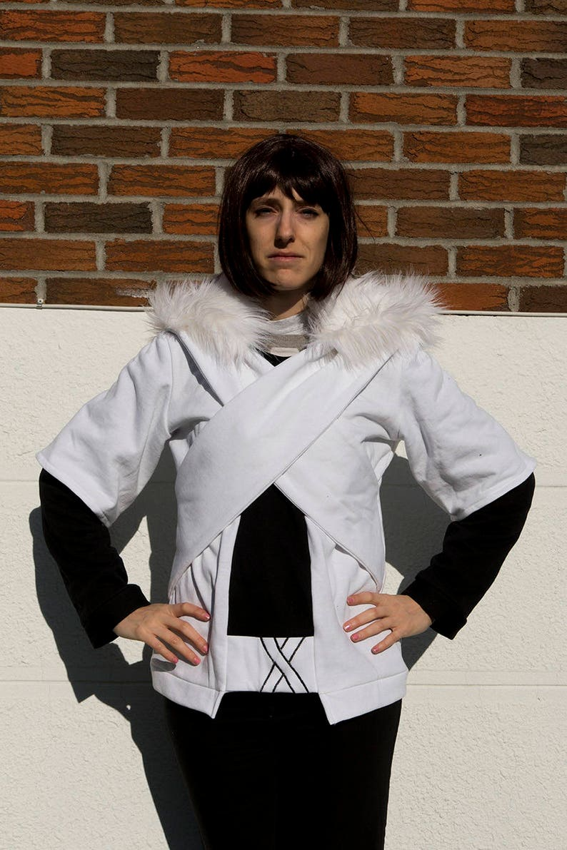 X-Tale and Underverse Cross!Sans inspired cosplay hoodie (Undertale AU)