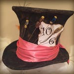 RESERVED for AKANE Full Size Mad Hatter Top Hat