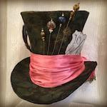 RESERVED for Joy - Tim Burton Full Size Mad Hatter Top Hat