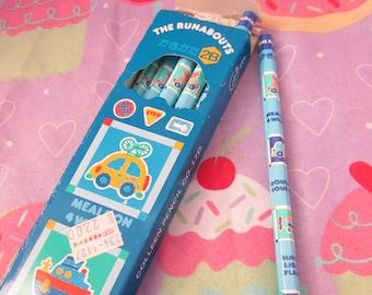 1987 Vintage Sanrio The Runabouts 2B Pencils