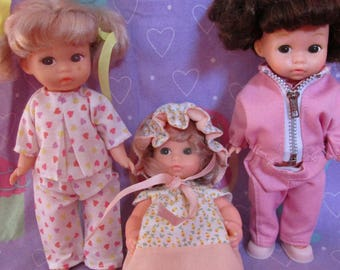 30% OFF! Amanda Jane Vintage dolls with outfits Lot