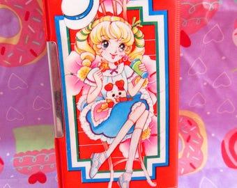 25 % DE RABAIS! Vintage 1980 Eluza Jean Claude 5 minuterie japonais Kawaii Manga Pencil Case