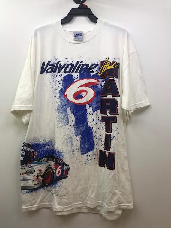 "Vintage ""Mark Martin"" Nascar Racing T-Shirt"