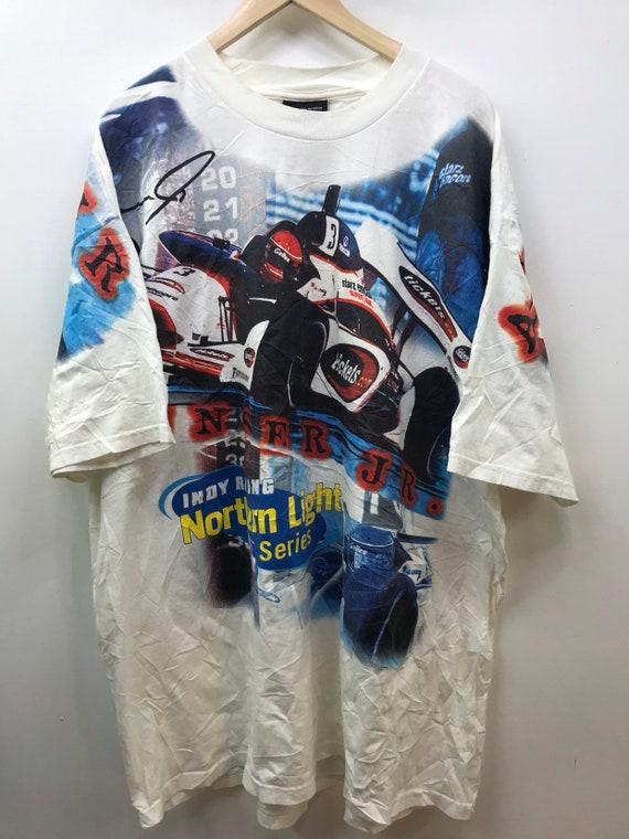 Overprint Nascar T-Shirt Al Unser Jr.