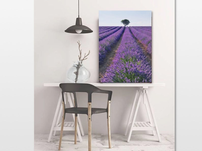 Provence France Lavender Printable Lavender Wall Art French Lavender Lavender Bedroom Art Lavender Photography Lavender Field Print