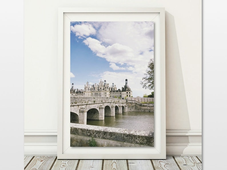 Peachy Chambord Wall Print French Castle Photo Loire Valley Chateau Large Printable Architectural Poster Digital Download France Travel Art Tower Download Free Architecture Designs Scobabritishbridgeorg