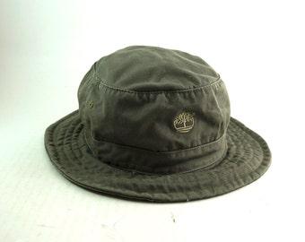 2c1a97ebd29 Timberland Gray Bucket Hat    Roll Up Gilligan Hat    Size Medium